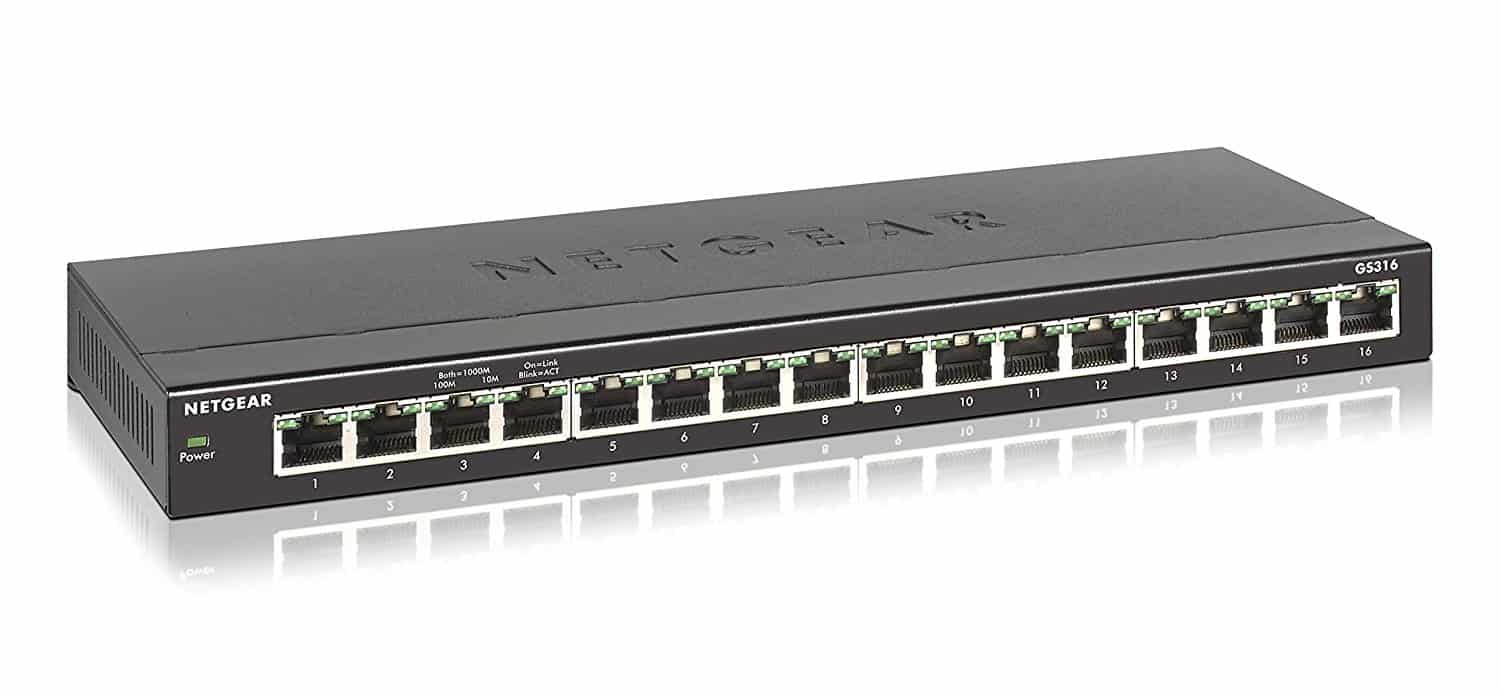Recommendation - Netgear 16 Port Unmanaged Switch